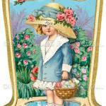 Easter Bonnet Gift Label D..