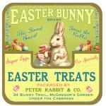 Easter Candy Treats Bunny ..