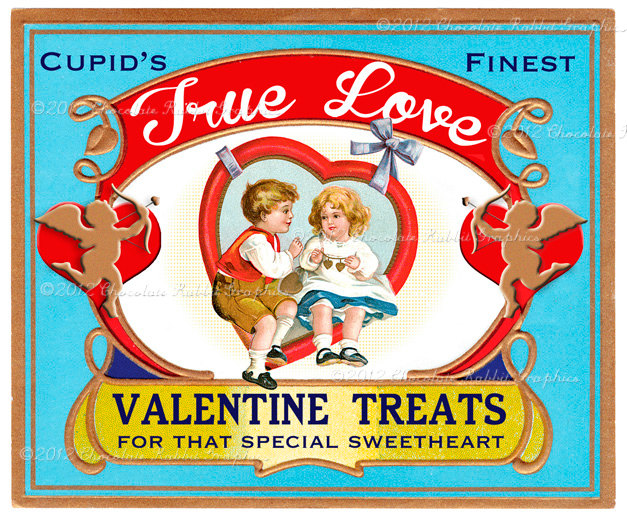 Valentine Candy Treat Vintage