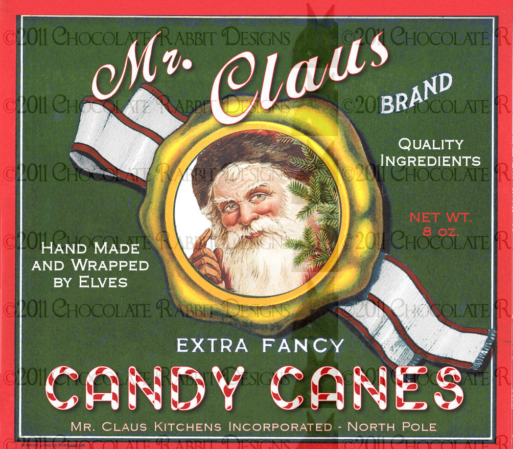 Vintage Christmas Candy